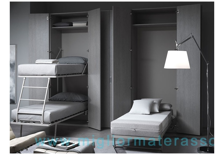 wall bed gemini 2 beds