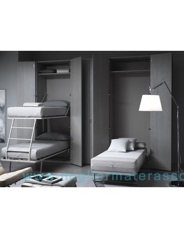 Letto a scomparsa in esposizione armadio letto mobile for Mobile con letto a scomparsa ikea