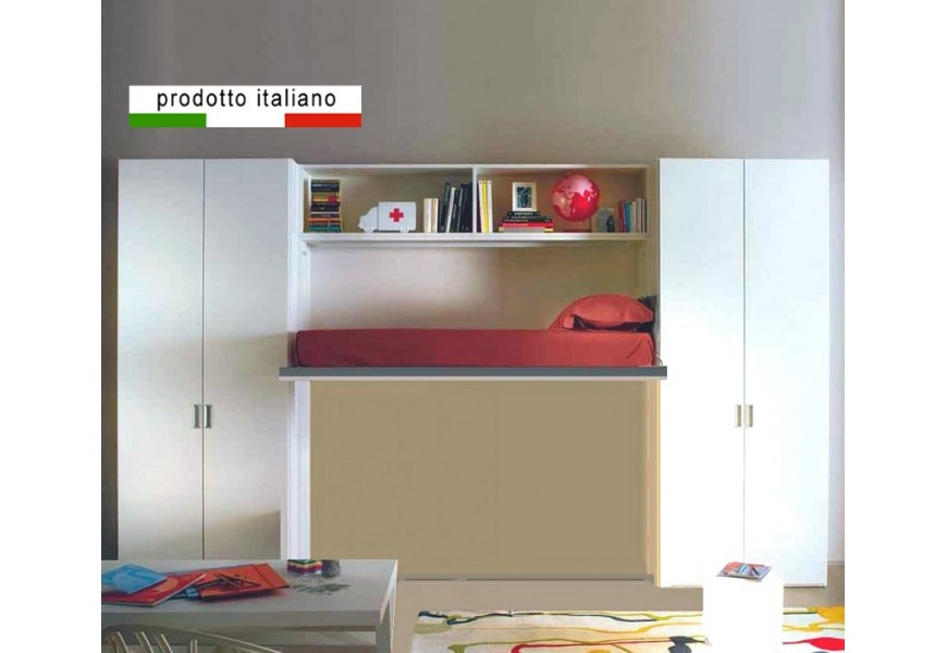 wall bed gemini 2 bed