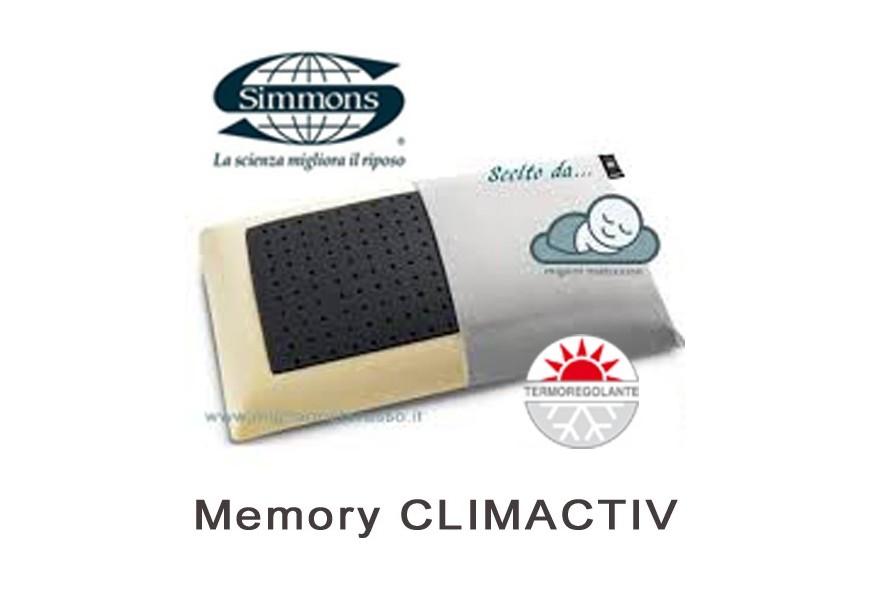 Cuscino Memory Simmons Climactiv