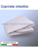 Coprirete imbottito con angoli elastici