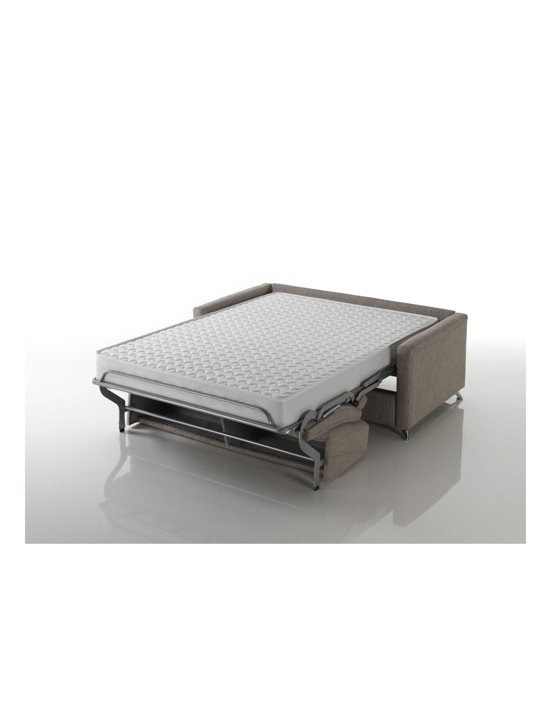 Materasso comodo alto 17 cm dentro un divano letto matrimoniale design - Letto con materasso incluso ...