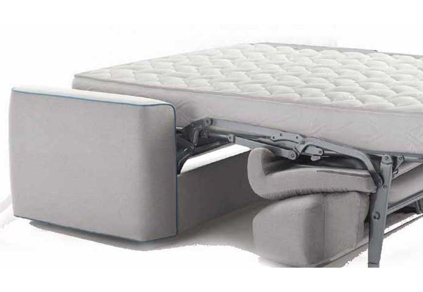 sofa with mattress
