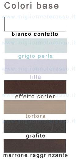 colori letto cosatto