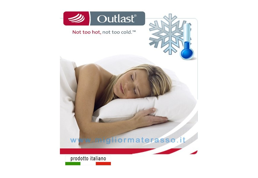 Outlast cover mattress cooler
