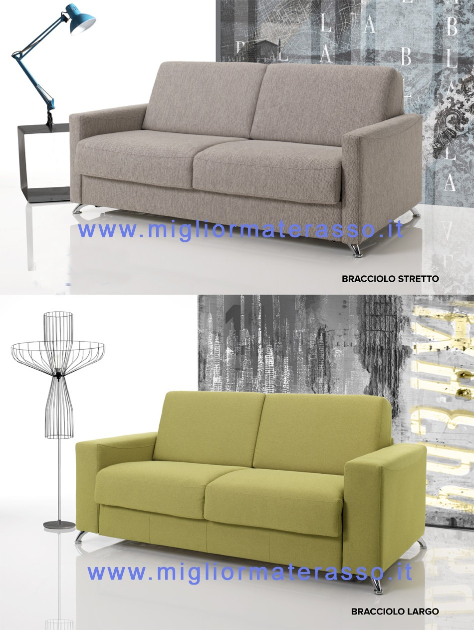 sofa with mattress - Miglior Materasso Srl