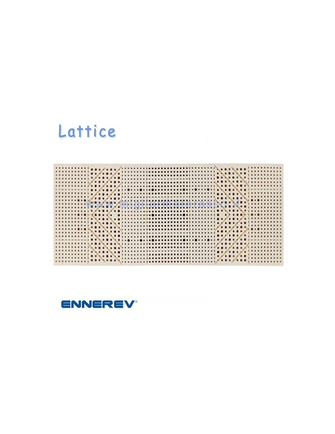 Materasso in lattice Ennerev Bioritmo il meglio dei materassi lattice