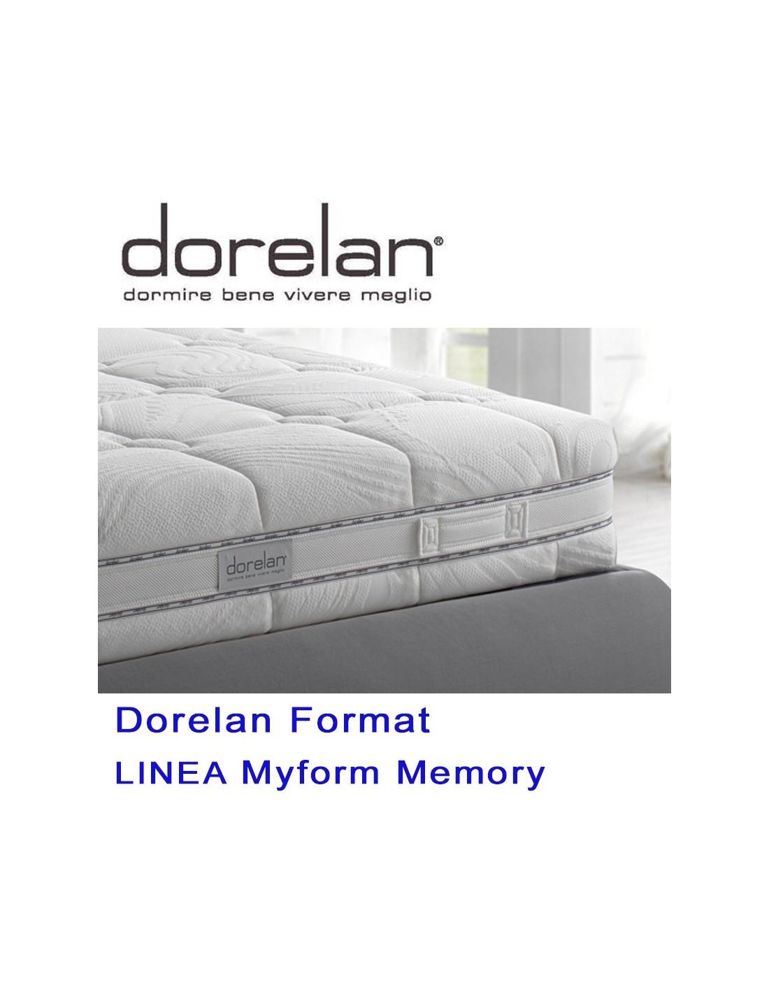 Materasso Dorelan Format Myform Memory i nuovi materassi Dorelan