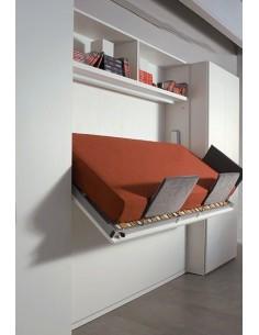 Letti a scomparsa con materasso interno alto mobile letto ...