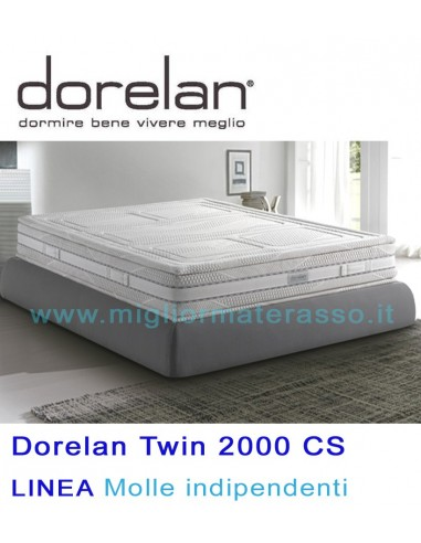 Twin 1500 molle indipendenti