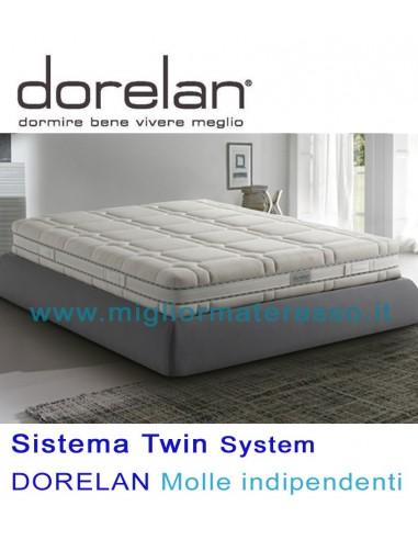 Materassi Dorelan Commenti.Rising Twin 2000 Dorelan Molle Indipendenti