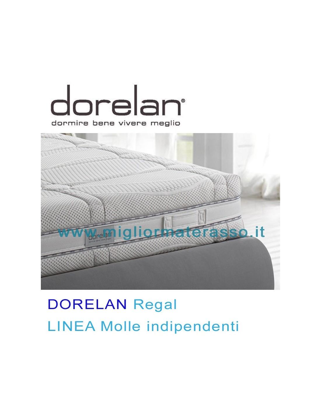 Dorelan Regal a molle insacchettate tra i migliori materassi Dorelan