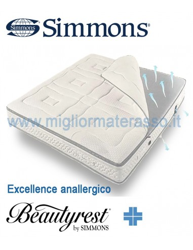 Materassi Simmons.Excellence Simmons Hypoallergenic Version Mattress
