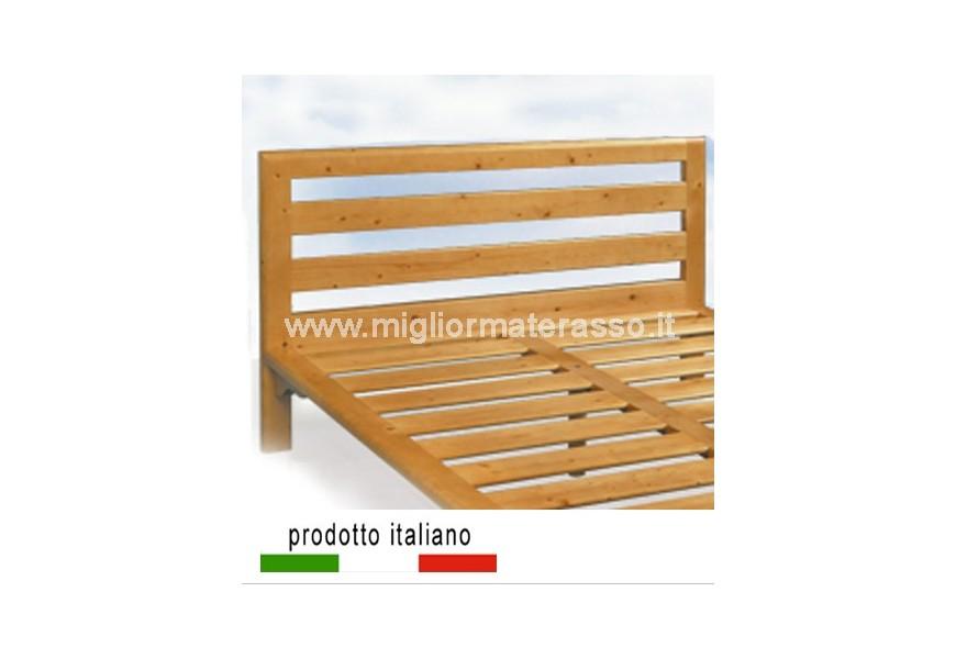 Testiera in legno massello tipo 2