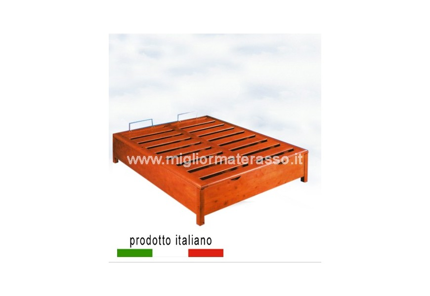 Wood bed made in Italy