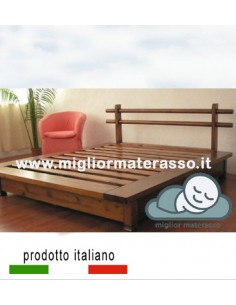 Italian Wood bed made