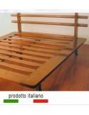 Italian Wood bed made