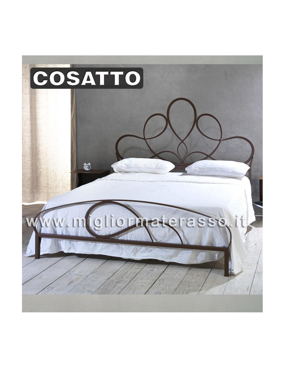 Violetta Cosatto letto in ferro battuto classico prezzo offerta a Roma