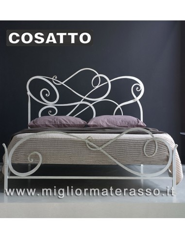 Aura Cosatto letto in ferro battuto classico prezzo scontato