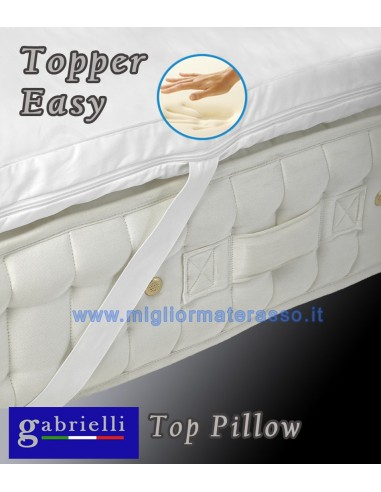 Materasso Memory 6 Cm.Topper Memory Foam Top Pillow 6 Cm High To Make A Softer Mattress