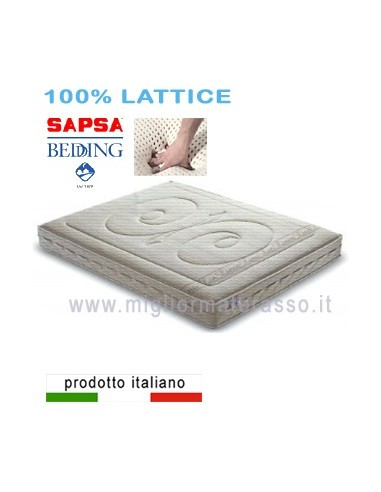 Lavare Materasso In Lattice.Materasso Pirelli Sapsa Bedding Lattice Naturale Biomaterasso Prezzo