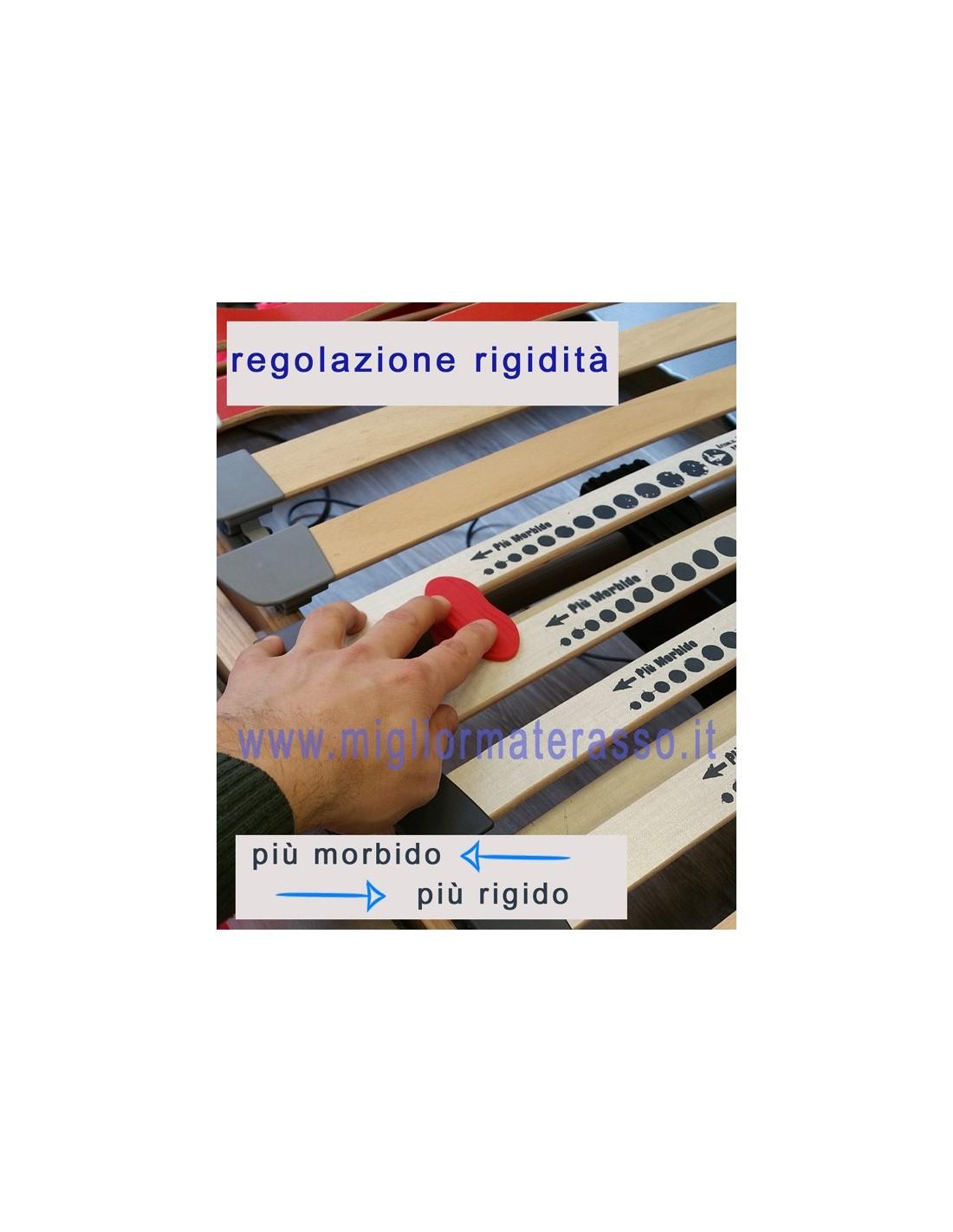 Materasso Memory 4500 Matrimoniale.Rete Elettrica Singola Matrimoniale Alza Piedi Alzatesta In Legno