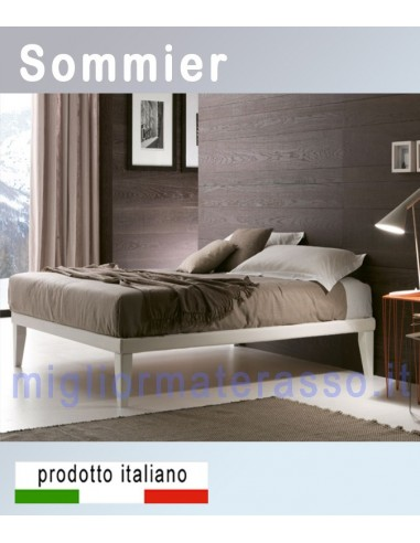 minimal sommier italian bed. Black Bedroom Furniture Sets. Home Design Ideas