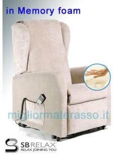 chair authomatic memory foam