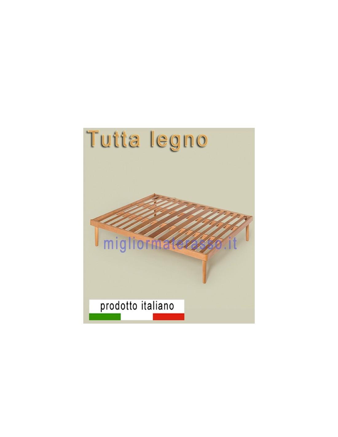 Rete in legno multistrato ortopedica una base a doghe - Rete letto legno ...