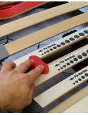 Rete in legno doghe regolabili