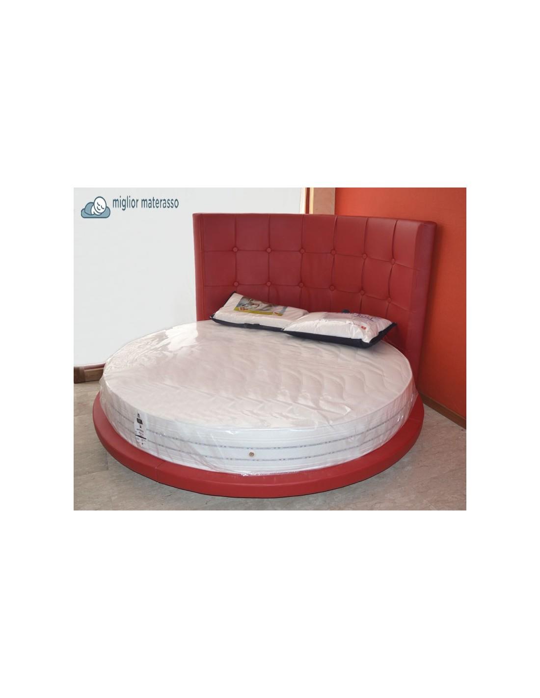 Materasso rotondo prezzo scontato per letto tondo con diametro 220 cm