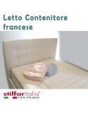 Letto contenitore 140 cm misura francese