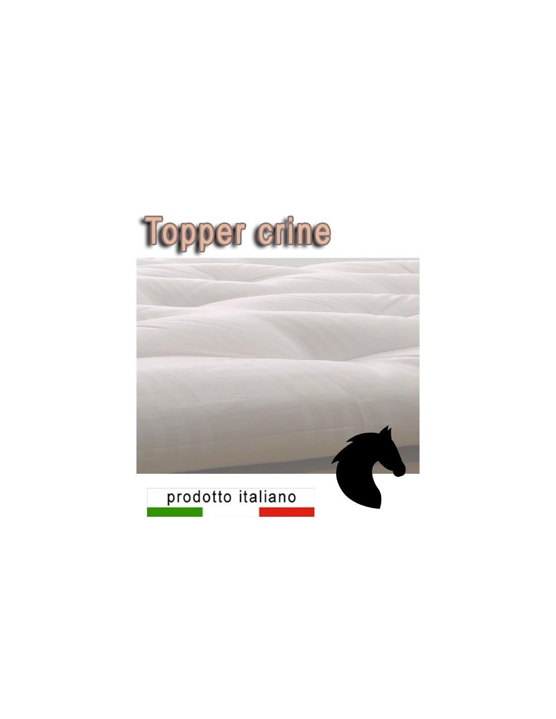 Materasso Di Crine Significato topper naturale in crine di cavallo