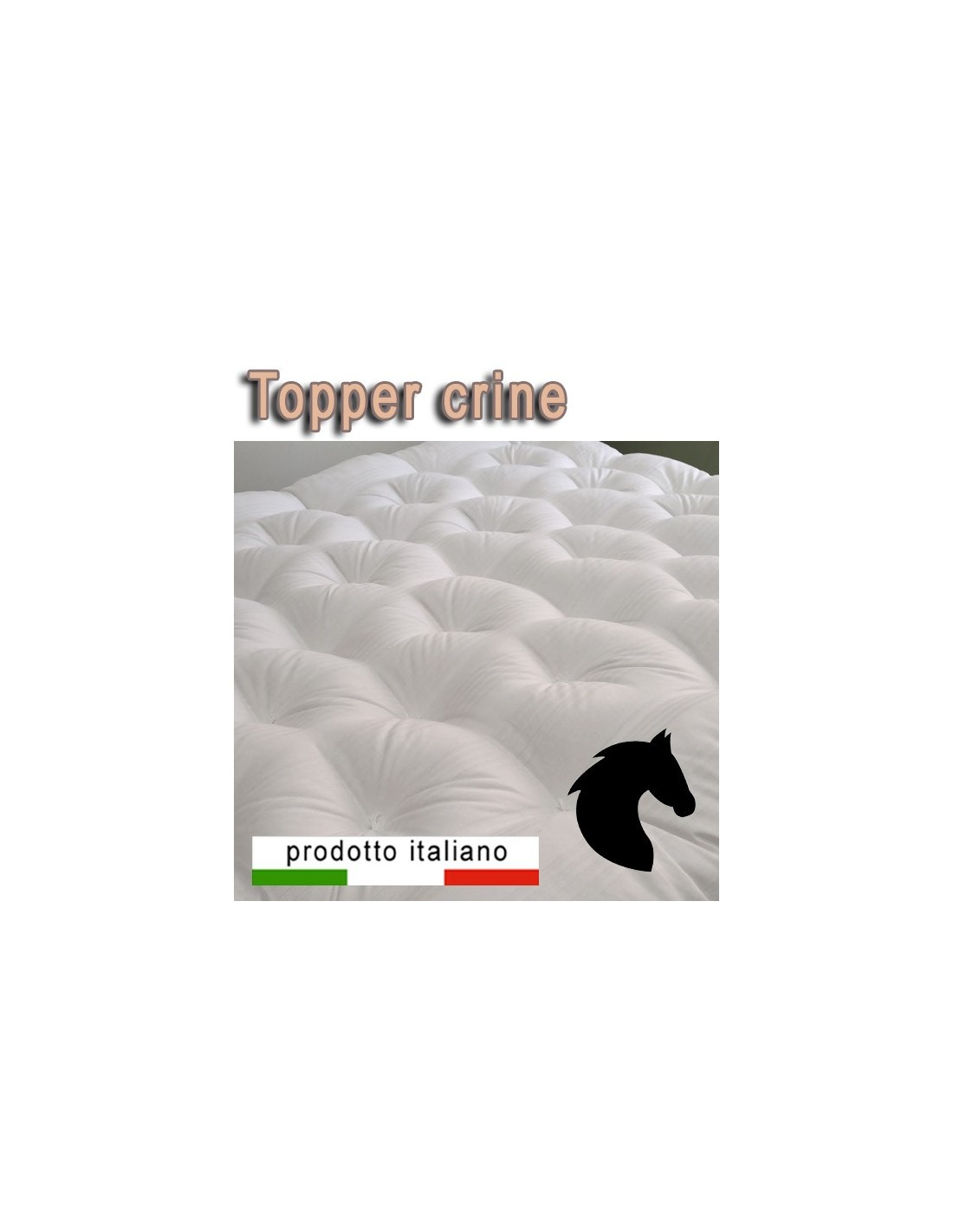 Materasso Di Crine Significato fresco topper naturale un soffice strato rende il materasso più morbido