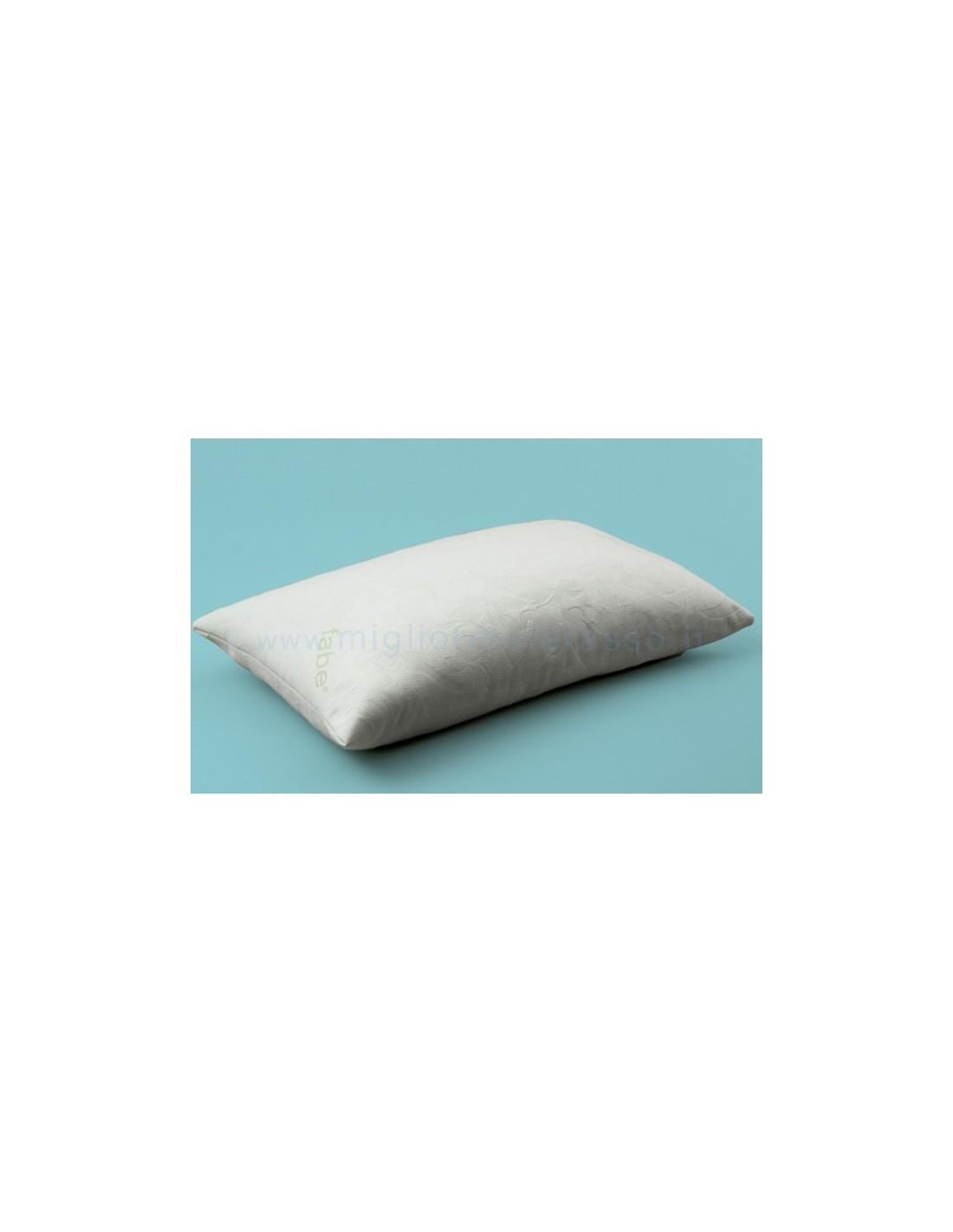 Federa Cuscino Antiacaro.Copricuscino Antiacaro Cotone Jersey Per Tutti I Cuscini