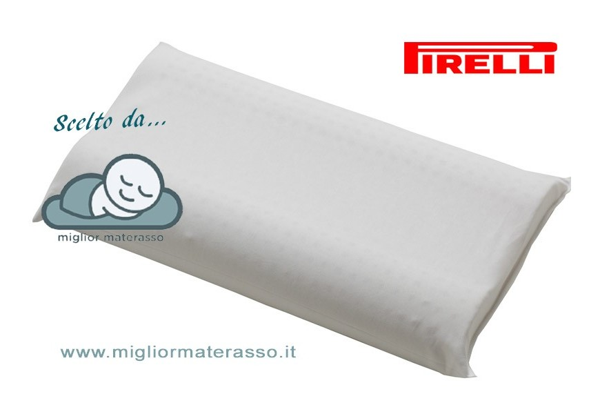 Pirelli contour latex pillow