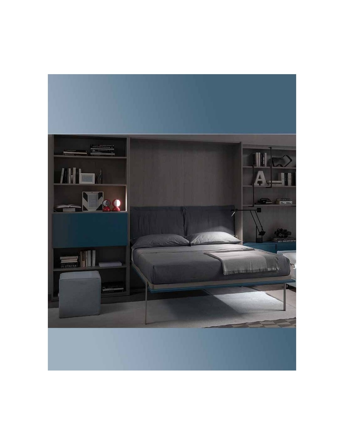 Mobile letto singolo amazing with mobile letto singolo for Mobile letto a scomparsa mondo convenienza