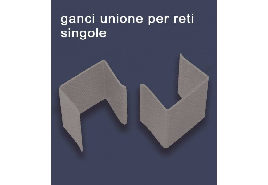 Staffe Ganci unione Reti singole