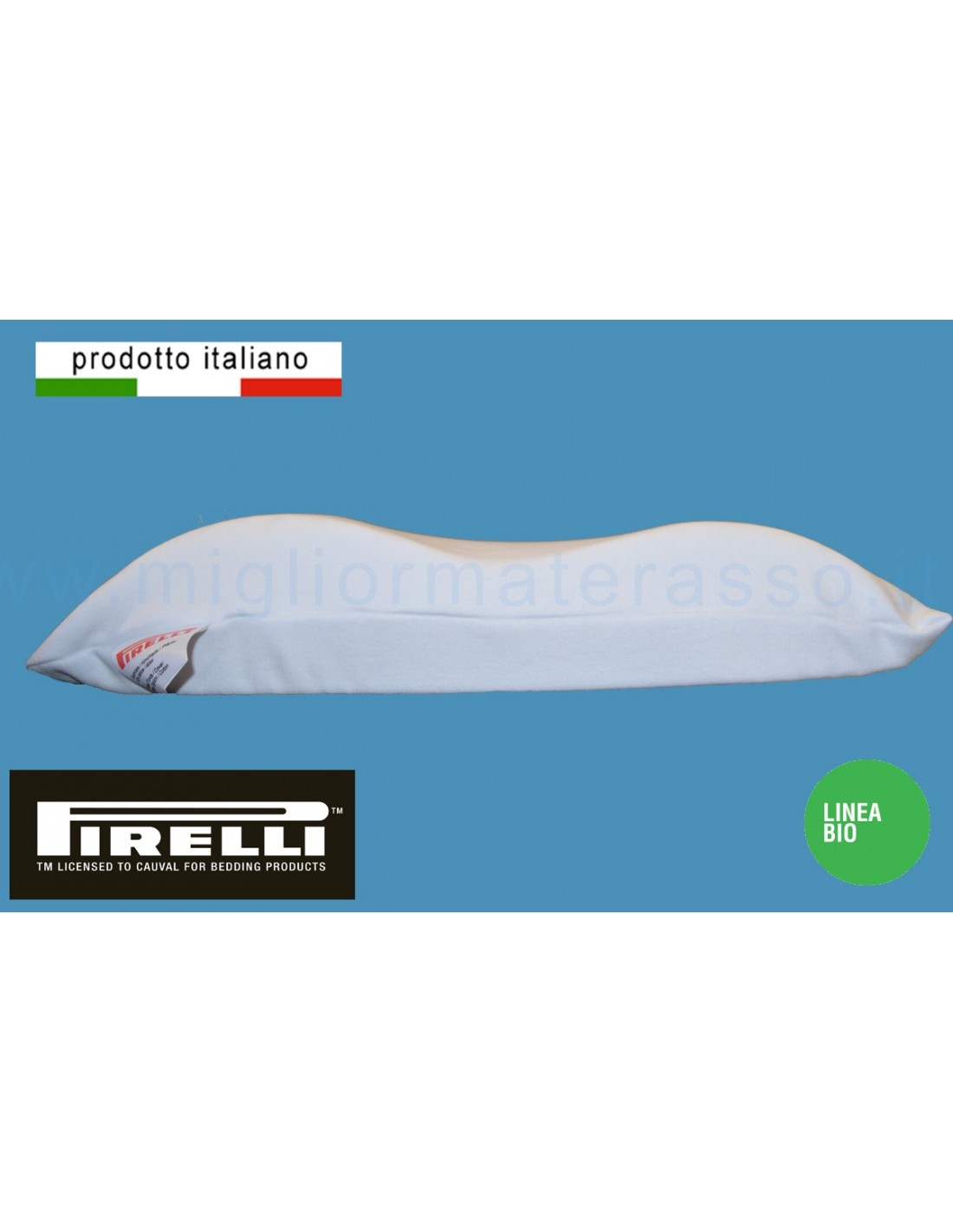 Cuscino Pirelli Bedding.Latex Contour Pillow Pirelli Made In Italy