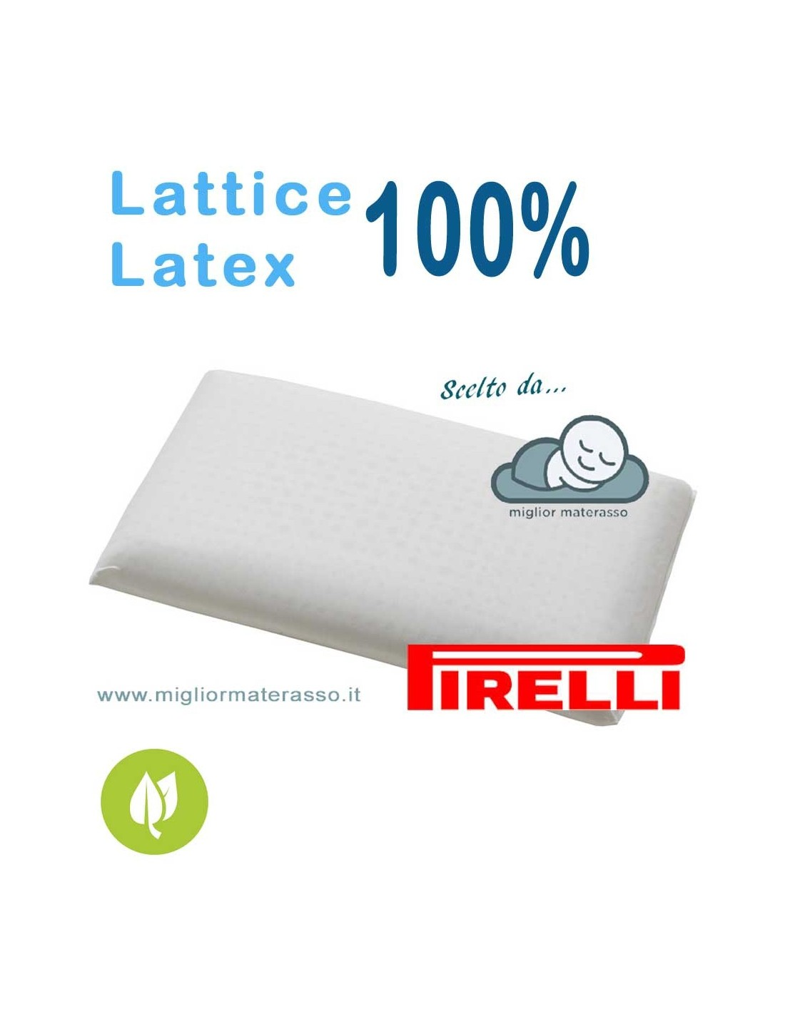 Cuscino Pirelli Bedding.Pirelli Classic Latex Pillow 10 Cm 13 Cm 15 Cm High