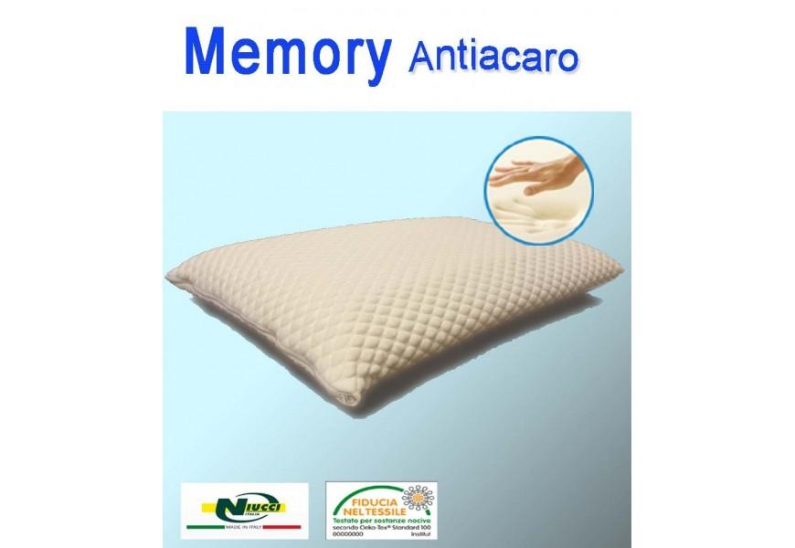 Cuscino Memory massage antiacaro