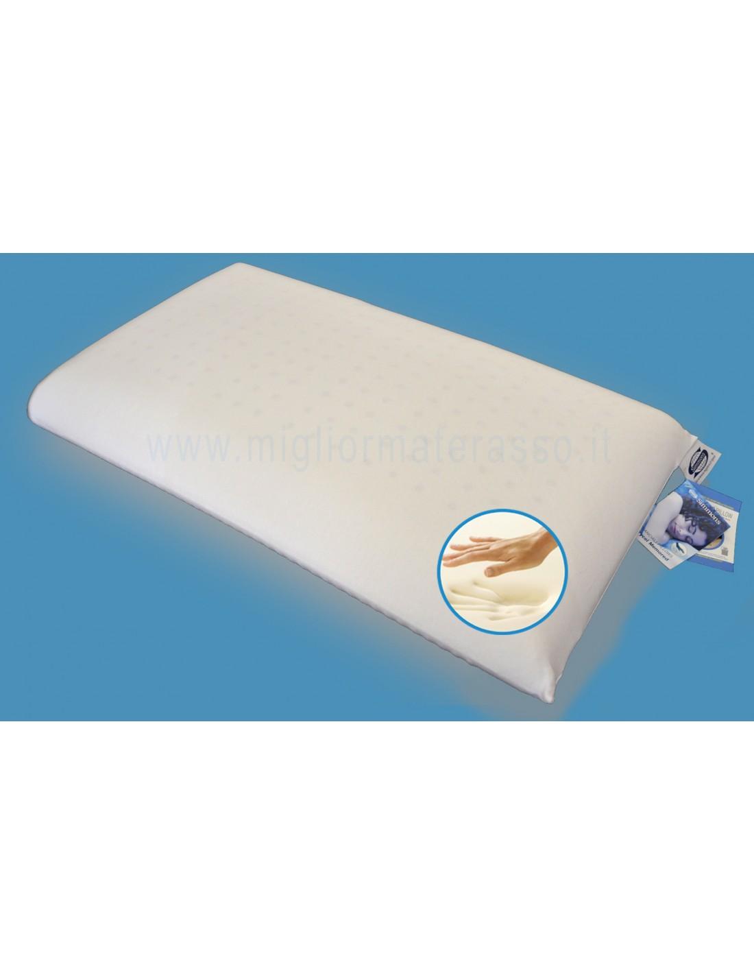 Materassi Pirelli Memory Foam.Pillow Memory Simmons Memoplan