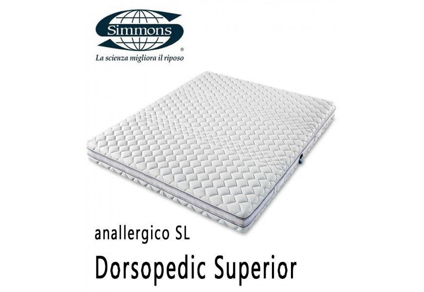 Simmons Dorsopedic Superior anallergico