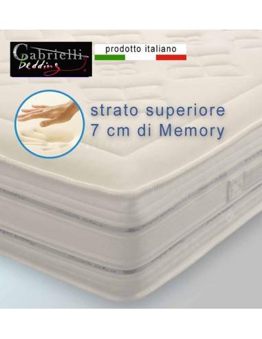 Miglior Materasso In Memory.Materasso Memory Alto 30 Cm Di Spessore