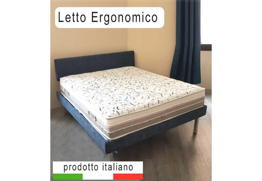 ZED Letto design con reti ergonomiche
