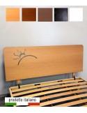testiera in legno