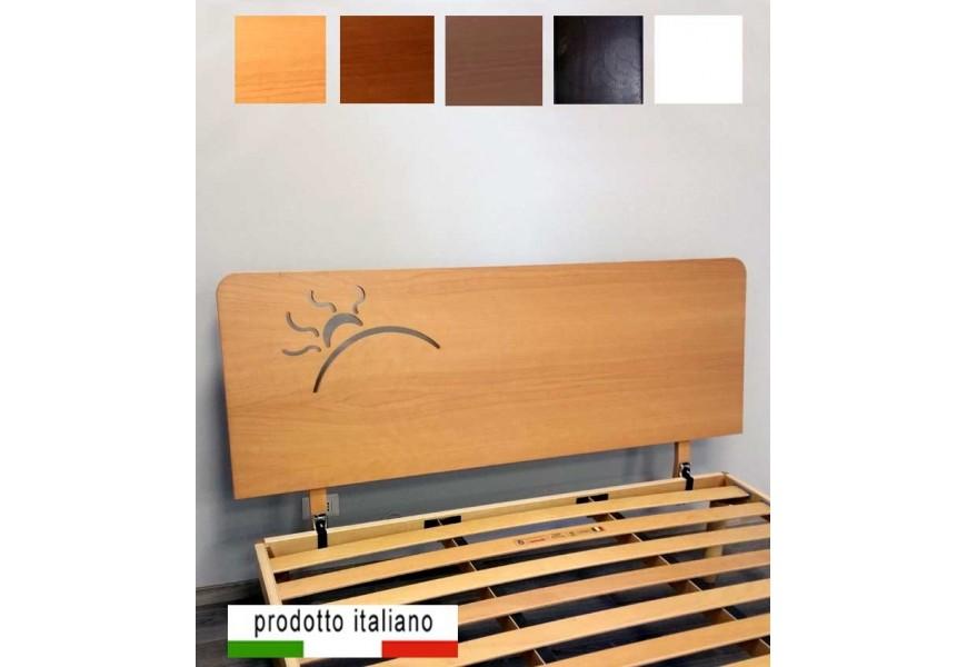 Wood bed headbord linear