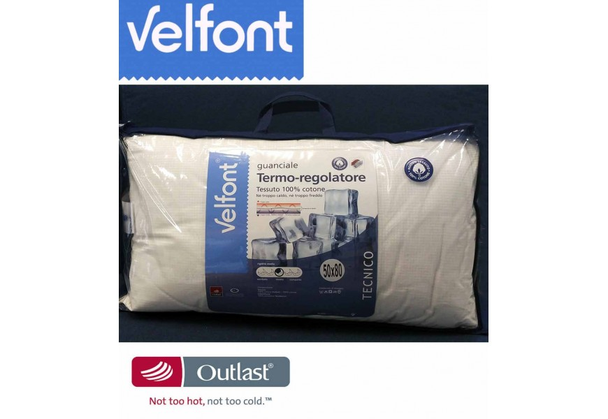 Outlast thermo-regulator pillow Velfont