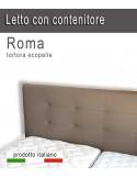 Letto con contenitore matrimoniale Roma