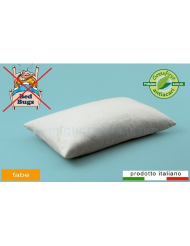 Cuscini Fabe.Hypoallergenic Greenfirst Pillow By Fabe